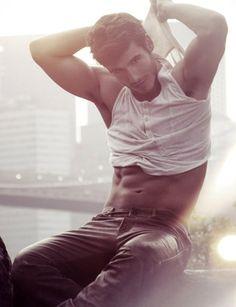 See there, Vegan is healthy AND delicious. heheh   Lucas Bernardini, brazilian, vegan, model,