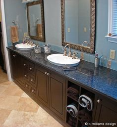 another view of blue pearl granite | kitchen ideas | pinterest