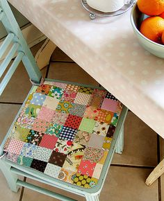 Summerhouse Seat Cushion Sewing Pattern: Posie, Rose Little Things: Alicia Paulson