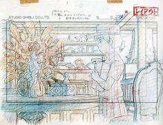 Studio Ghibli Layout Designs - Le Royaume de Chats