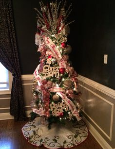 One of my favorite trees I decorated for a client
