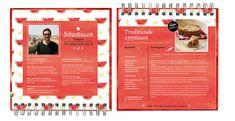 Book design magazine - Smaken verschillen, daarom zijn de receptenboeken er in 3 verschillende stijlen.