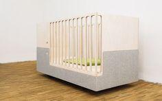 Contemporary bed / baby / child's unisex OTTO CRIB PART by Liliana Montaño & Thomas Maitz Perludi