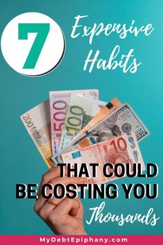 expensive habits Earn More Money, Ways To Save Money, Money Tips, Money Saving Tips, College Student Budget, College Students, Financial Goals, Financial Planning, One Income Family
