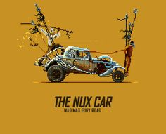Vehicles of Mad Max: Fury Road