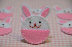 funny bunny - felt project