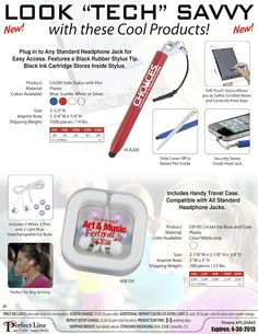 Are Your Customers Tech Savvy? Touchscreen Pens are the Perfect Gift!