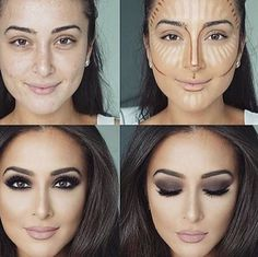 15 transformations make-up qui vont vous coller des frissons ! - Les Éclaireuses - Reine Chantal Dakoury 15 make-up transformations that will stick you shivers! - The Girl Scouts - - Queen Chantal Dakoury - Makeup Goals, Makeup Inspo, Makeup Inspiration, Makeup Tips, Makeup Ideas, Mac Makeup, Best Contour Makeup, Highlighter Makeup, Drugstore Makeup