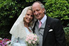 Hereditary Princess Katharina von Hohenzollern, born de Zomer, wed Prince Karl Friedrich von Hohenzollern in 2010
