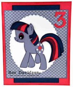 My Little Pony birthday cards