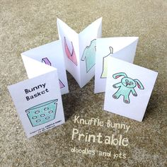 Knuffle Bunny Printable...so fun!