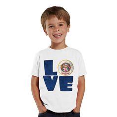 Love Minnesota kids shirt by shirtsbynany on Etsy