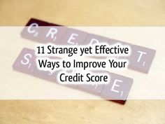 Improving credit score is important since credit score affects your financial products such as loans, home buying qualification, etc. Here are 11 ways to improve your credit score. Credit, Credit Scores, Credit Repair #credit #creditscore