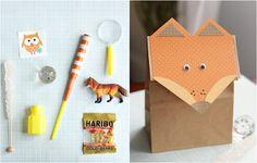 Woodland Creatures 1st Birthday   Fox party bags #kidsbirthday #partydecor