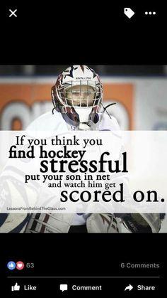 Truth!!!! Hockey Rules, Hockey Teams, Funny Hockey, Hockey Stuff, Goalie Quotes, Sport Quotes, Hockey Boards, Hockey Room, Soccer Goalie
