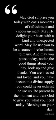 LOVE these blessings from Susie Larson!