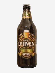 Cerveja Leuven Golden Ale, estilo Belgian Blond Ale, produzida por Cerveja Leuven, Brasil. 5.5% ABV de álcool.