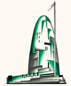 modernizing:  Architectural Fantasies by Iakov Chernikhov.  .