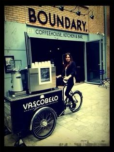 Awesome coffee cart idea - part of our #espressodistrada project