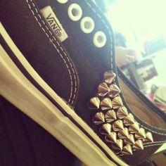 rocker chic #shoes #vans