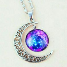 New! Celestial Moon Necklace
