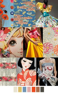 Manga colors. Soft, beautiful, bold. #colorswatches