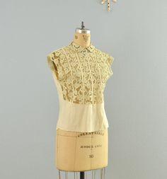 vintage blouse by PickledVintage on Etsy, $200.00