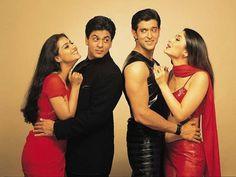 Kajol, Shahrukh Khan, Hrithik Roshan & Kareena Kapoor / Kabhi Khushi Kabhie Gham