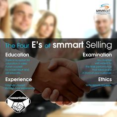 Want to become a Smart Seller? Here are the 4 Es that T.I.G.E.R. Santosh Nair talks about in his workshop on #smmartSelling