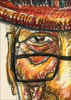 Self Portrait: Chalk Pastels