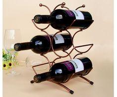 Newest hot selling Wine holder centipede shaped wine rack fit for six wine bottled wine holder decoration A2049