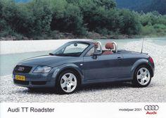 Audi TT Roadster (Dutch, model year 2001)