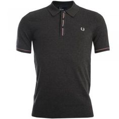 Fred Perry Fine Tipped Knitted Polo T-Shirt in « Impulse Clothes