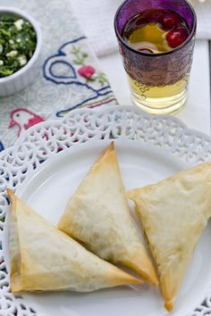 Spanakopita triangles @Jen Laceda | Tartine and Apron Strings