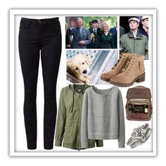 """Stroll in the forest with the royal family of England"" by rosalie-of-belgium ❤ liked on Polyvore featuring True Religion, Moore & Giles, James Perse and Uniqlo"