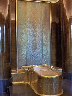 Image result for jacques grange bathroom