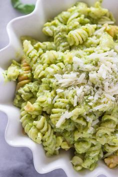 Avocado Pasta (use #glutenfree pasta) #clean #cleaneating
