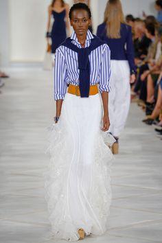Ralph Lauren Spring 2016 Ready-to-Wear Fashion Show - Herieth Paul