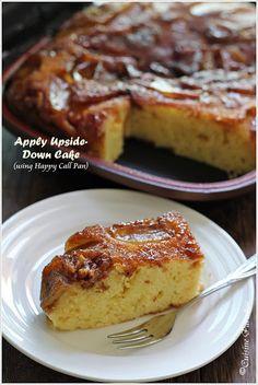 Cuisine Paradise | Singapore Food Blog - Recipes - Food Reviews - Travel: {Happy Call Pan Version} Apple Upside-down Cake