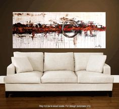 Enormous 72xxl large abstract painting original par jolinaanthony