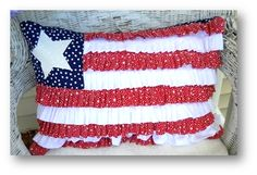 4th of July.. Pretty pillow