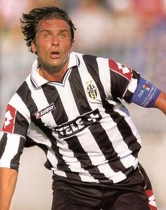 Antonio Conte - true juve captain and leader. A heart of gold!