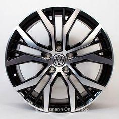 original genuine Volkswagen GTI Santiago rims for your VW Golf 7 VII, now on kunzmann. Vw Accessories, Vw Golf 7, Gti Mk7, Golf Tips Driving, Rims For Cars, Car Volkswagen, Lamborghini Cars, Car Wheels, Chrome Wheels
