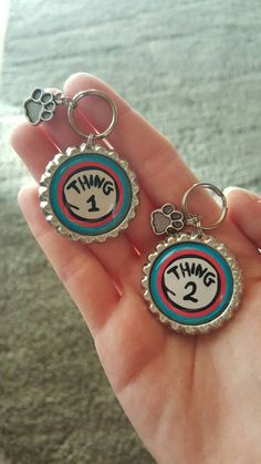 Hey, I found this really awesome Etsy listing at https://www.etsy.com/listing/260346605/custom-dr-seuss-dog-tags-thing-1-thing-2