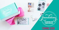 Kreative Kristie: Foundations Box Blog Hop