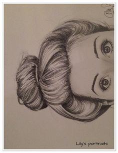 Pencil Portrait Mastery - portrait REGARD au crayon graphite gras : Dessins par aurelie-ledoux - Discover The Secrets Of Drawing Realistic Pencil Portraits #RealisticDrawings