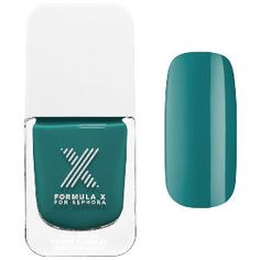 Formula X - The Colors  in Pyrotechnic #sephora  dark turquoise
