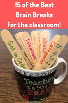 Classroom management preschool - 15 of the Best Brain Breaks Continually Learning teaching education brainbreaks classroommanagementpreschool Teaching Strategies, Teaching Tools, Teacher Resources, Teaching Ideas, Student Teaching Outfits, Teaching Memes, Teaching Writing, Teaching English, Education Reform