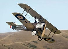 The Sopwith Camel was one of the most successful aircraft of the First World War.