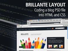 Brilliante PSD to HTML and CSS